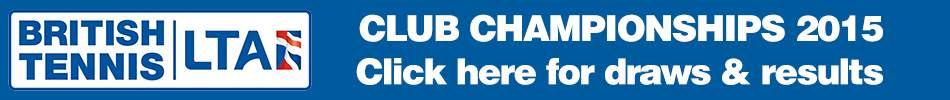 Click to view the club championships draw & results